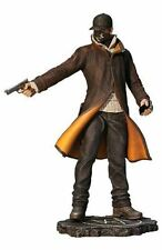 "New WATCH DOGS Aiden Pearce PVC Statue Figurine 10"" Tall GE0362"