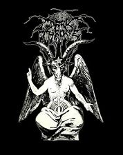DARKTHRONE cd lgo BAPHOMET GOAT Official SHIRT XL New black death and beyond