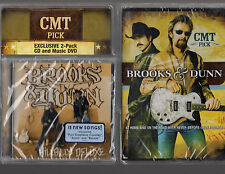 BROOKS & DUNN Limited Ed DVD w/music CD-HILLBILLY DELUXE,PLAY SOMETHING COUNTRY