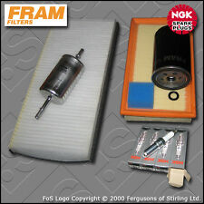 Service Kit Ford Focus MK1 1.8 Essence Huile Air Carburant Bougies de filtre de Cabine (1998-2004