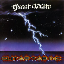 Great White Guitar & Bass Tab SHOT IN THE DARK Lessons on Disc