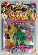Savage She-Force VIPER Marvel Hall of Fame action figure Toybiz 1997