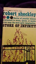 Store of Infinity by Robert Sheckley 1960 1st Paperback Edition Bantam A2170