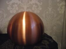 LARGE RETRO STYLE COPPER METAL BALL CEILING LIGHT SHADE *2 AVAILABLE*