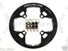 Driveline Chain Guard / Chainring Guard 48T, BCD 104mm, 126g, Black