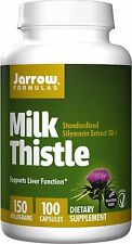 Jarrow Formulas Milk Thistle 150 MG, 100 Capsules - Supports Liver Health