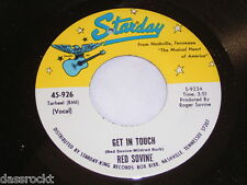 """7"""" - Red Sovine / Violets Blue & Get in touch - US Starday # 2761"""