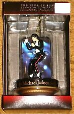 MICHAEL JACKSON THE KING OF POP CHRISTMAS ORNAMENT STILL SEALED IN BOX Free Ship