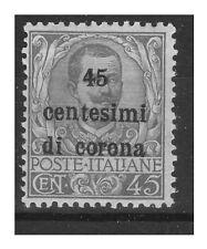 TRENTO E TRIESTE   1919 -   Cent. 45   NUOVO ** BC