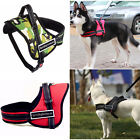 Heavy Duty Padded Big Dog Harness Extra Large Medium Small No Pull Work Collar
