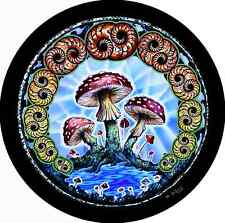 Mushroom Spare Tire Cover Wheel Cover Jeep RV Camper Trailer etc(all sizes avail