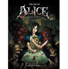 The Art of Alice MADNESS RETURNS analytics illustration art book
