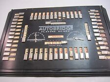 Vintage 1937 Autobridge Board General Electric Bridge with 2 Cards Black