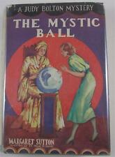 JUDY BOLTON #7 THE MYSTIC BALL MARGARET SUTTON 1934 G&D FIRST ED DJ