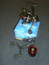 Shakespeare Agility 35FD Front drag Fishing Reel + Sp. spool + Two handles
