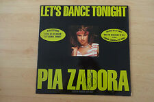 "Pia Zadora Autogramm signed LP-Cover ""Let´s Dance Tonight"" Vinyl"