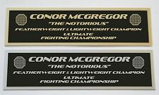 Conor McGregor UFC nameplate for signed mma gloves photo or case