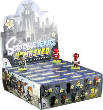 "SCRIBBLENAUTS - Unmasked 2"" S2 Blind Box Vinyl Mini Figurines Display (24ct)"