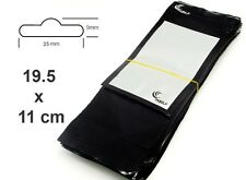 10 Mobile Phone Display Case Grip Seal Bags Retail Product Bag Resealable Black