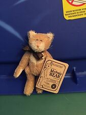 Boyds Bears Retired Mohair Cat Lindbergh Cattington