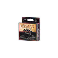 Crosman Benjamin Pellet Assortment Sampler 400 .22 Domed Hollow Pointed Pellets