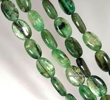 GREEN KYANITE GEMSTONE GREEN GRADE A OVAL 14X10MM LOOSE BEADS 7""
