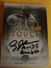 2011/12 Ud Exquisite Avery Johnson Rare On Card Auto #6/30 W Inscription Spurs !
