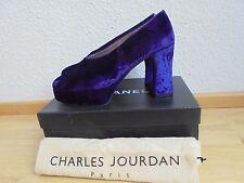 Chales Jourdan Plateau Pumps NP: 370€ w NEU High Heels Schuhe Tod schick Gr. 38