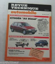 Revue technique automobile RTA 503 1989 Citroen AX diesel