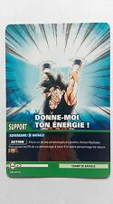 Carte Dragon ball Z Donne-moi ton énergie DB-859