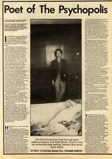 1/8/81PN14 ARTICLE & PICTURE(S) JIM CARROLL