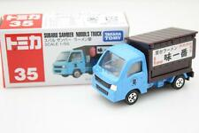 Takara Tomy Tomica #35 Subaru Samber Noodles Truck Scale 1/55 Diecast Toy Car