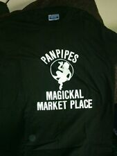 "FAMOUS *ORIGINAL* OCCULT STORE ""PANPIPES""  T-SHIRT JERZEES  SMALL, MED, OR LARGE"