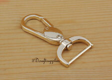 Lobster Clasps Clips Claw purse hooks Swivel snap hook gold 25 mm 4pcs P136