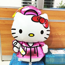 "Giant Supershape Hello Kitty Graduate foil helium balloon 104cm x 63cm 41"" x 25"""