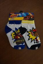 NEW Blaze and the Monster Machines Toddler Boys Socks 6 Pairs 2T-4T
