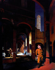 Cadmus Paul Night In Bologna Print 11 x 14  #3643