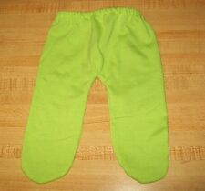 "15-17"" CPK Cabbage Patch Kids LIGHT LIME GREEN TIGHTS LEGGINGS STOCKINGS"