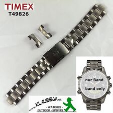 Timex Replacement band T49826 EXPEDITION Metal Combo Original, Watch Spare