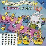 G, A Dozen Easter Eggs (Jewel Sticker Stories), Melissa Sweet, 0448414961, Book