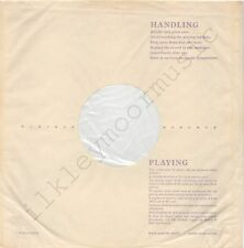 "Vintage INNER SLEEVE or SLEEVES 12"" HANDLING and PLAYING poly-lined v2 x 2"
