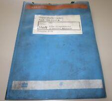 Werkstatthandbuch Audi 100 C4 mit 6 Zylinder Motor 12V Mechanik AAH ab 1991!