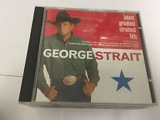 George Strait : Latest Greatest Straitest Hits CD (2000) 008817010021
