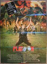 PLATOON Affiche Cinéma ALLEMANDE / DEUTSCH Movie Poster Oliver Stone