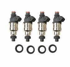 550cc Fuel Injectors Fit Honda B16 B18 B20 D16 D18 F22 H22 H22A VTEC Free clips!