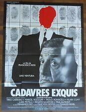 Ancienne Affiche Cinéma CADAVRES EXQUIS. Cinema Movie Poster.