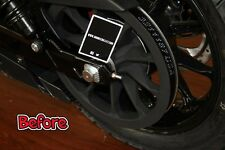 Victory Octane Axle Adjuster Covers Victory Motorcycle Billet