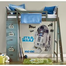 New Giant R2D2 WALL DECALS R2-D2 Stickers Classic Star Wars Movie Room Decor
