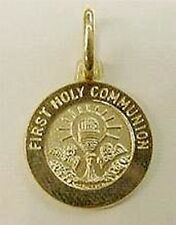 New 14k Gold 'Holy Communion' Medal-Free Shipping!