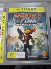 Ratchet & Clank Tools Of Destruction Game (Essentials) PS3 Brand New and Sealed